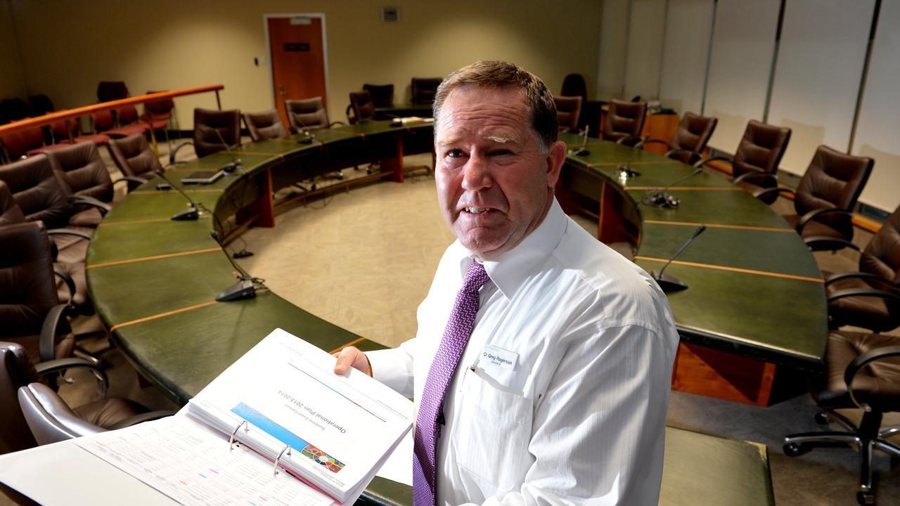 Former Sunshine Coast and Maroochy Shire councillor Greg Rogerson.
