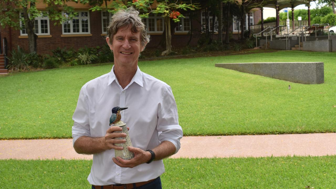 Calvin Hegvold won the Sport and Recreation Award at the 2021 Ipswich Australia Day Awards.