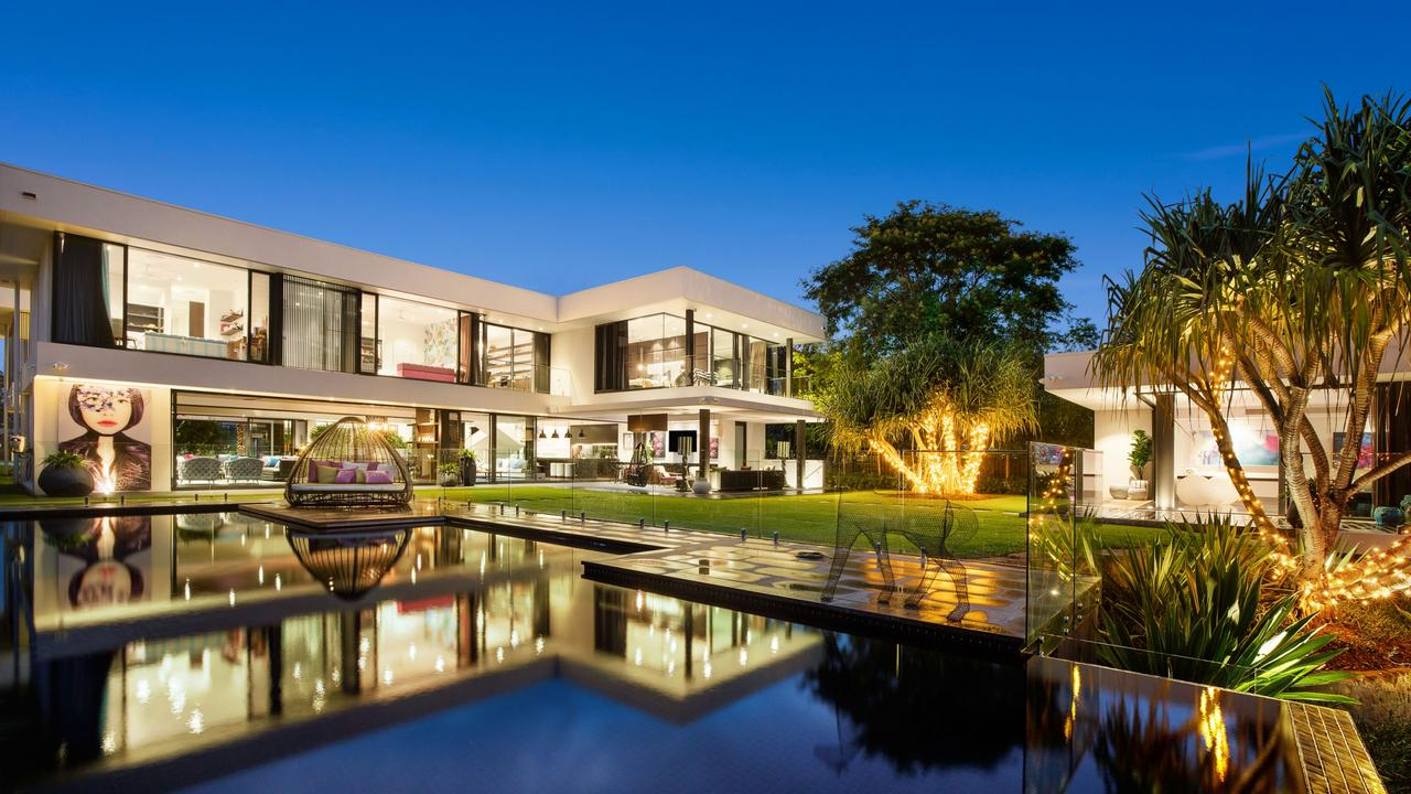 This property at 14 Maryland Ave, Carrara, is on the market for $12m and was one of the most viewed residential listings in Queensland this week.