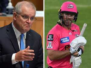 Cricket stars fire back at 'petty' ScoMo
