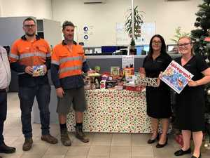 Emerald business donates more than $45k to CQ hospitals
