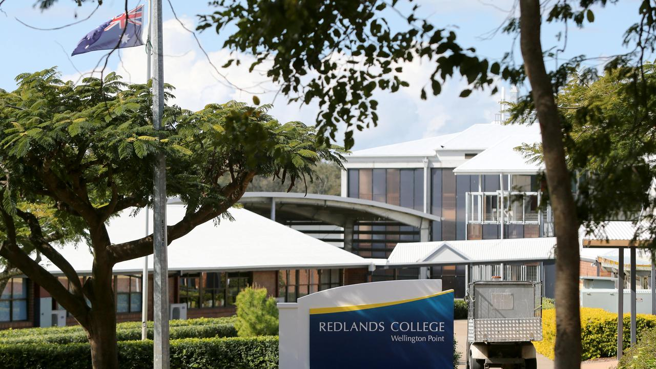 Parents at Redlands College will be able to drop of junior school students at a designated area. Pic Jono Searle.