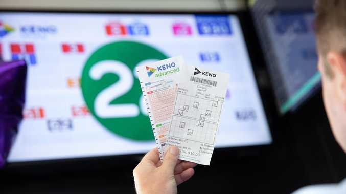 YOU BEAUTY: Mirani mates land $73K Keno win