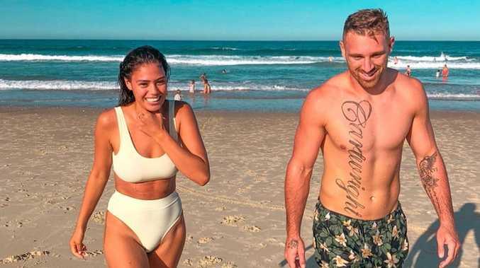 Controversial anti-vaxx couple splits