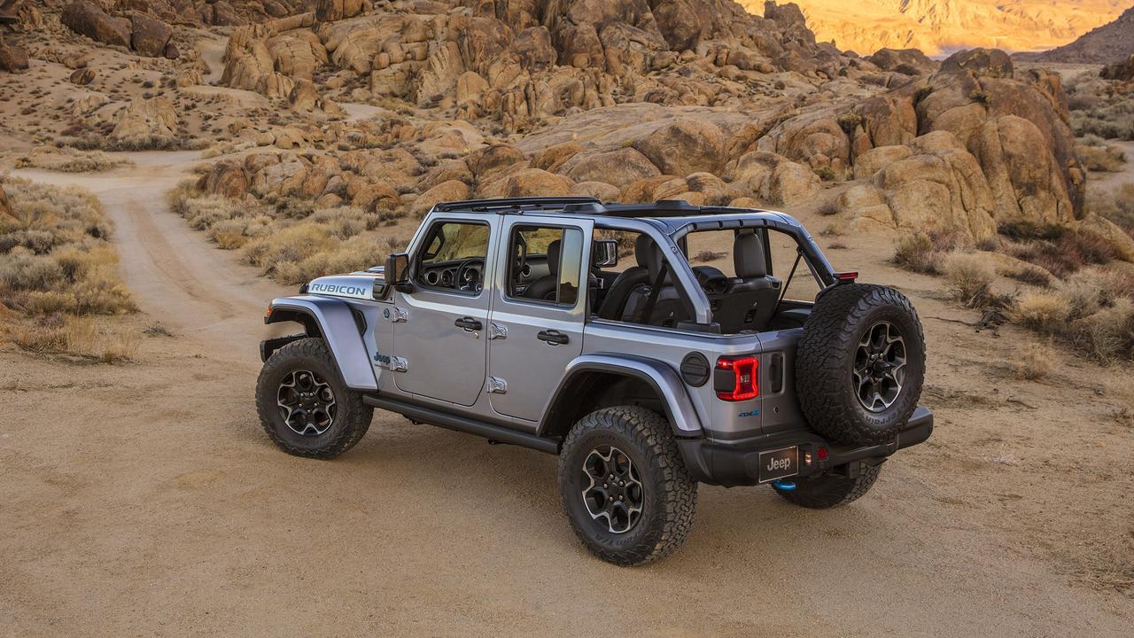 Jeep's plug-in hybrid Wrangler 4xe has impressive performance figures.
