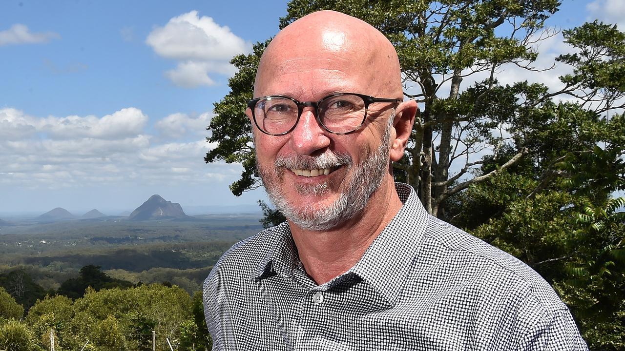 Tony Gill, director of Art on Cairncross.