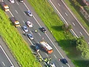 Major Bruce Highway delays after crash north of Brisbane