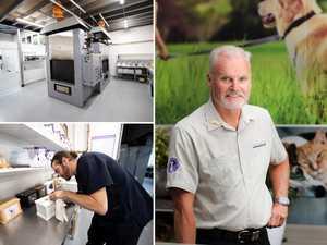 Behind-the-scenes at a pet crematorium