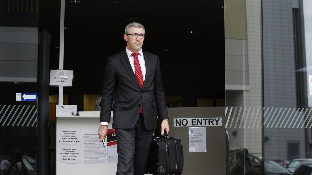 Nathan Turner leaves Maroochydore Magistrates Court.