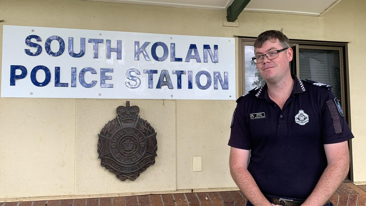 South Kolan Officer In Charge Sergeant Matt Swan is calling on the community to stop trespassing after numerous reported instances at Norval Park.
