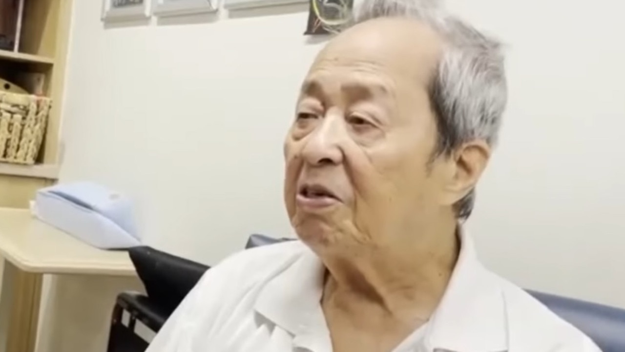 Dik Lee, 94, died in hospital this week. Source: 9 News