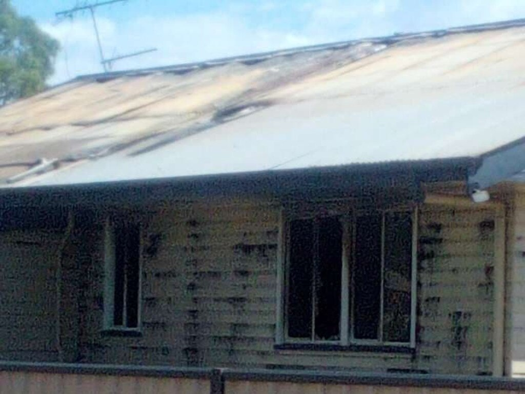 A young family of seven have lost everything in a horrific blaze that gutted their Charleville home. Pic: Contributed