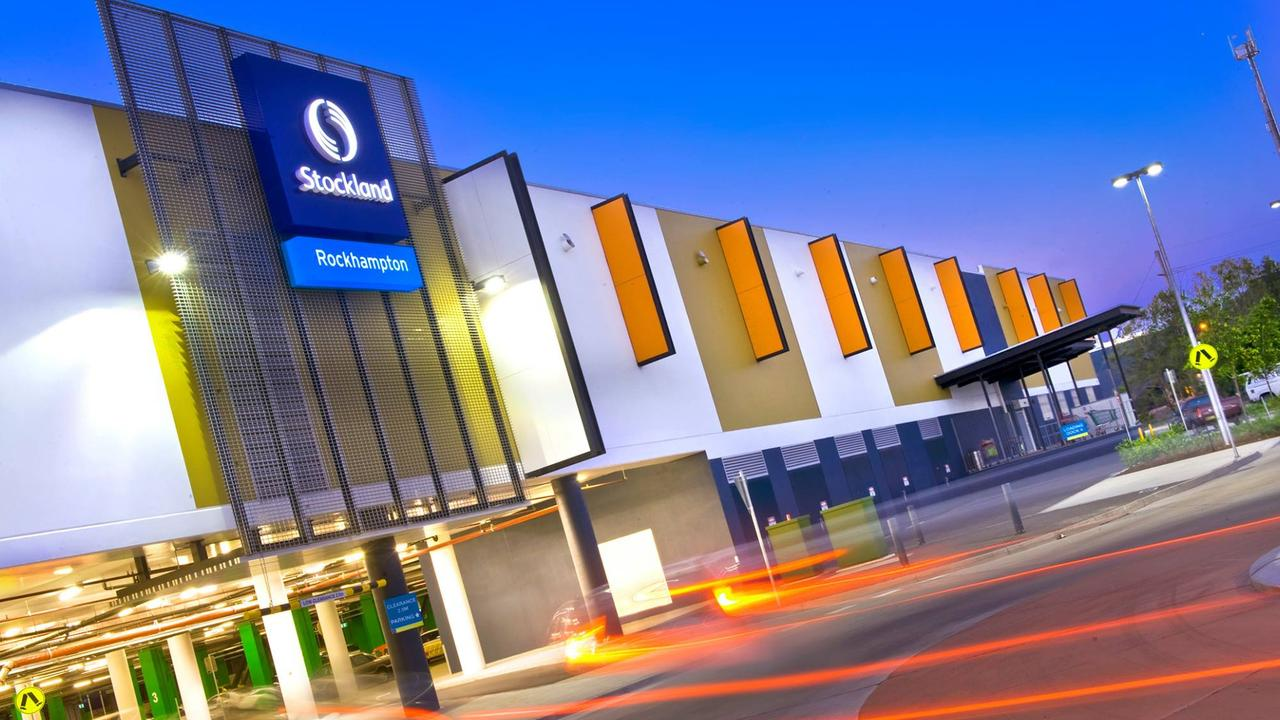Three were charged with robbery at Stockland on Thursday.