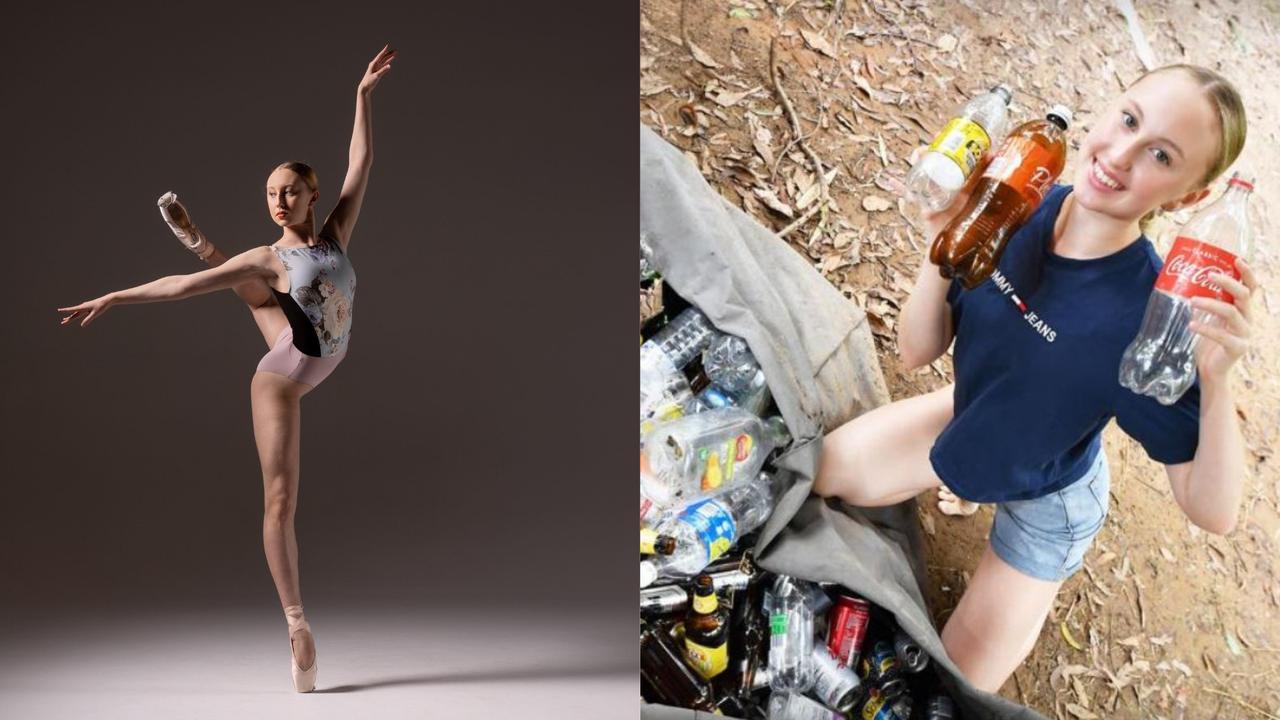 Landsborough teen Madeleine Powell is raising funds to study ballet overseas.