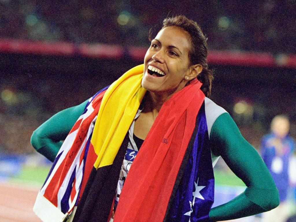 Cathy Freeman is a national hero.
