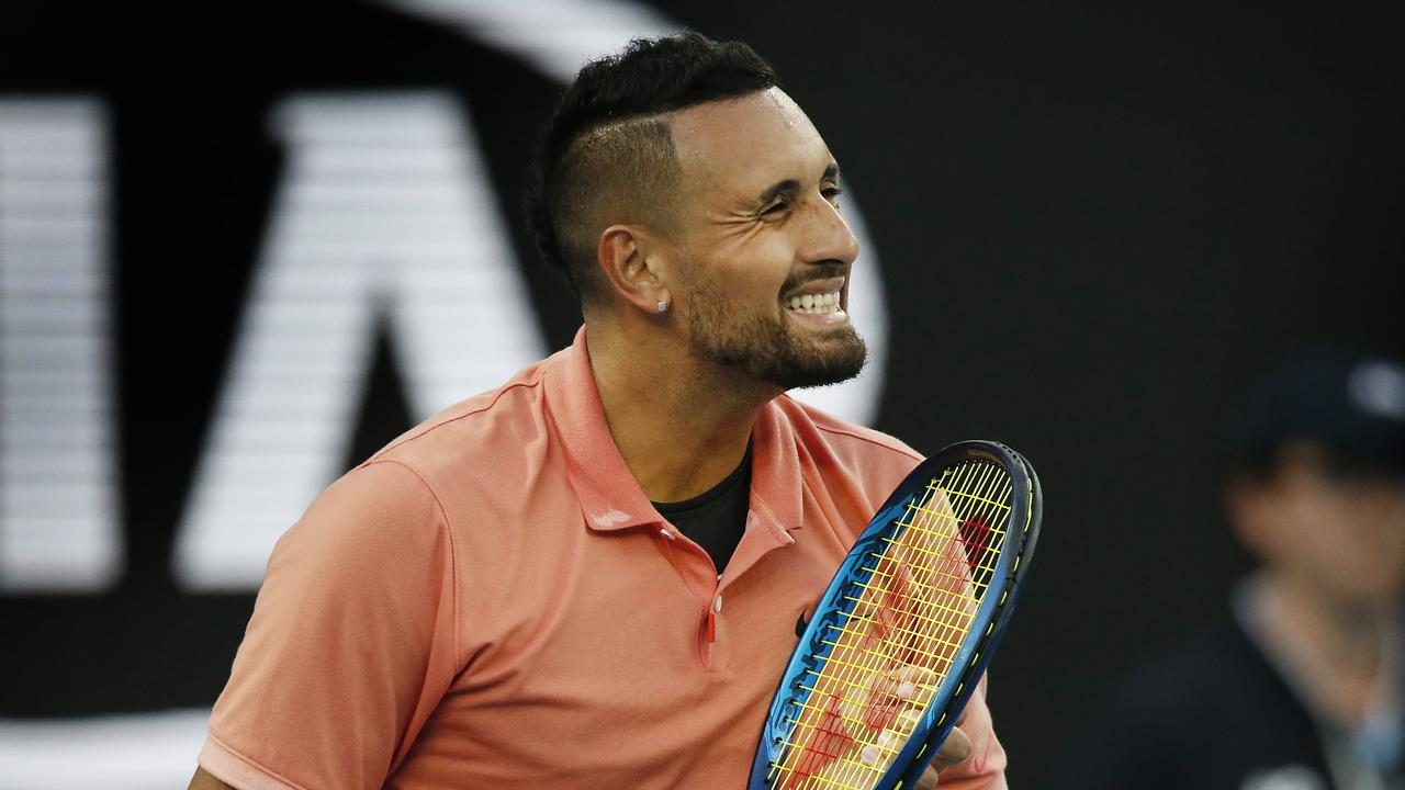 He was once known as the super brat of the game but Nick Kyrgios has shaped up as the Open's unexpected voice of reason, say David Meddows and Amy Harris.