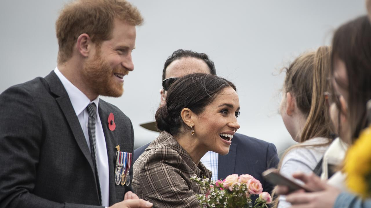 Harry and Meghan's huge popularity didn't detract from the fact Harry was a 'spare' heir. Picture: Rosa Woods/AAP