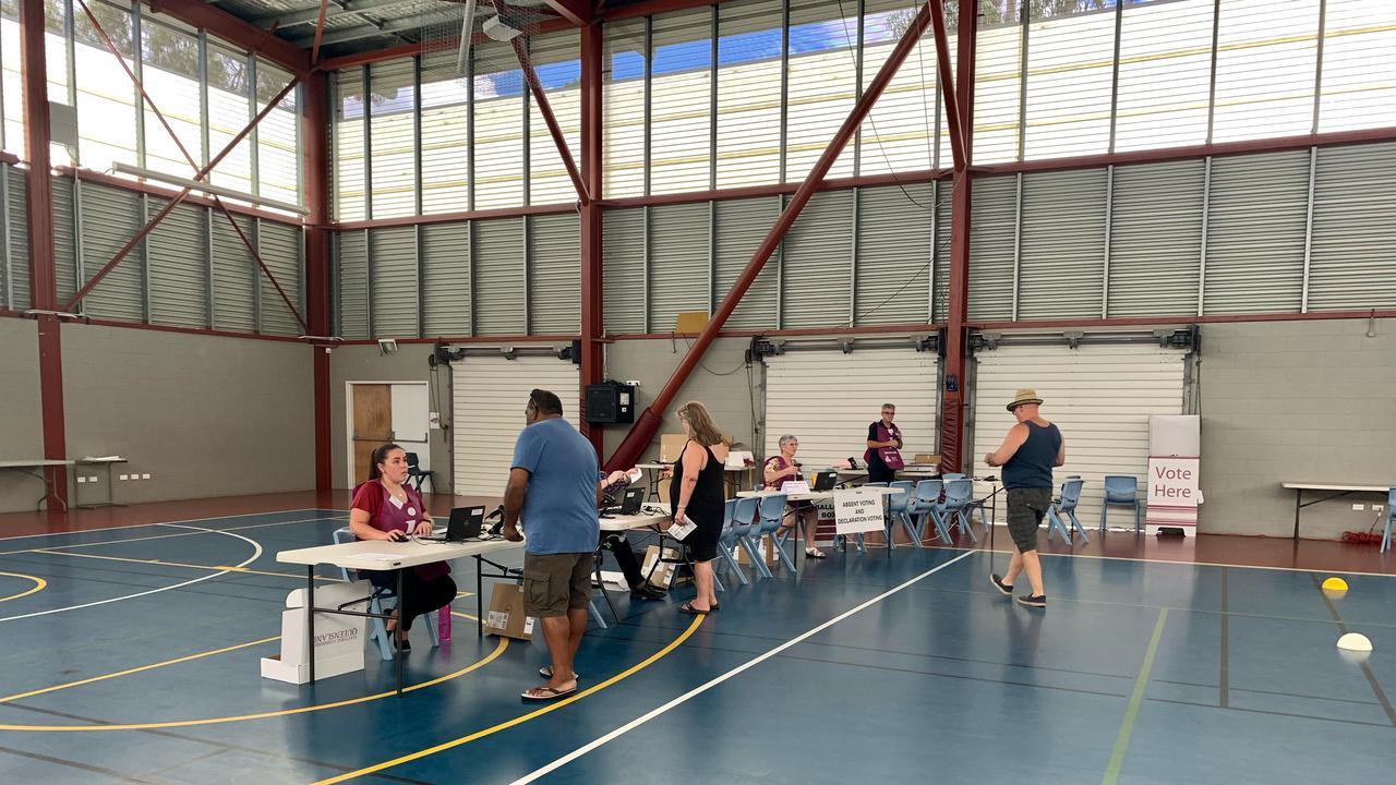 Voting at North Rockhampton State High School