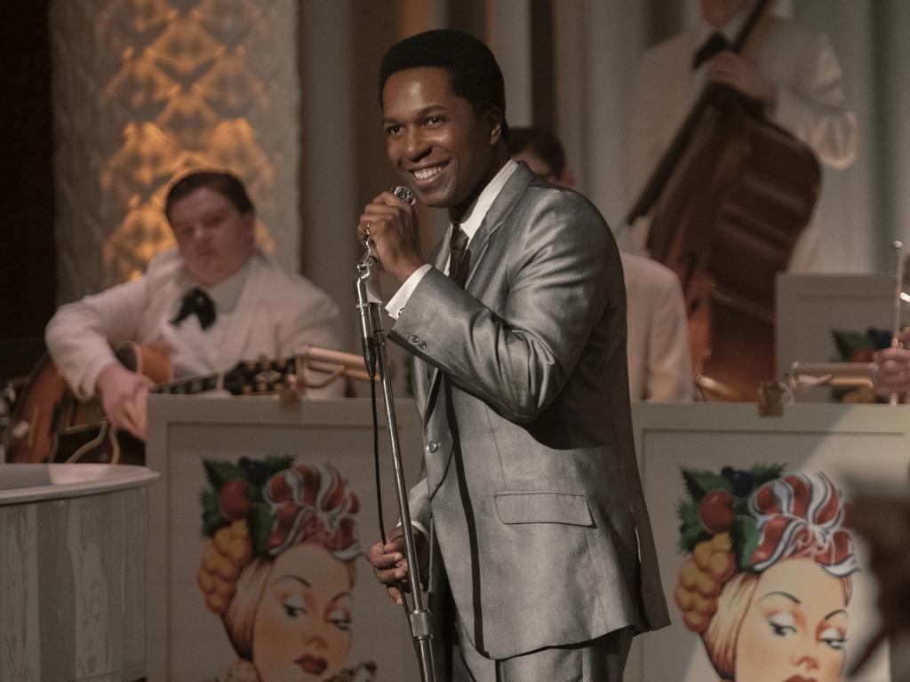 The LA-based actor also had a starring role in One Night In Miami. Picture: Patti Perret/Amazon Studios