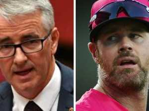 Politician's stunning attack on cricket star