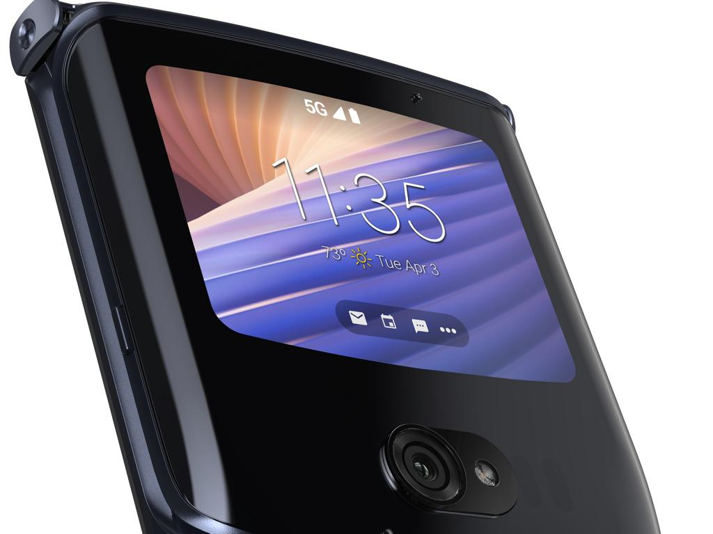 The Motorola RAZR 5G is the company's second folding smartphone.