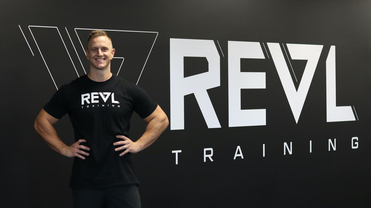 Josh Every unveils REVL Training at Maroochydore's Kon-Tiki building.