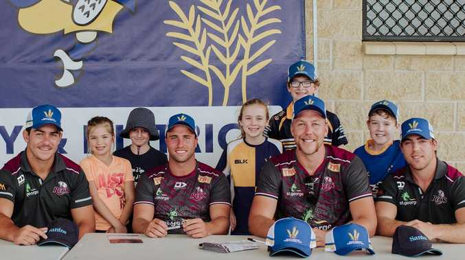 Queensland Reds put on masterclass for aspiring Dalby Wheatmen