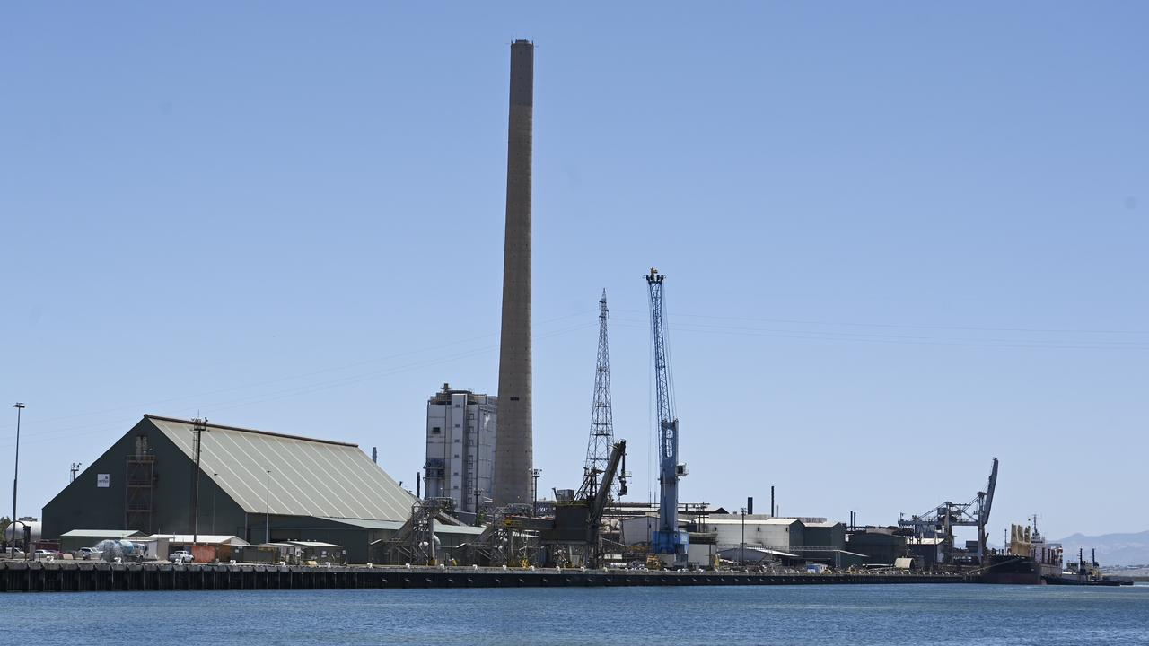 The lead smelter in Port Pirie is a major employer for the city's 15,000 residents – but it's also affecting their health. Picture: NCA NewsWire/David Mariuz