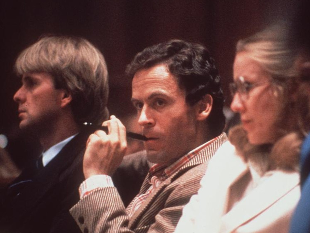Ted Bundy confessed to as many as 30 homicides across seven states before he was executed in the electric chair at Florida State Prison in Raiford, Florida, on January 24, 1989. Picture: AP
