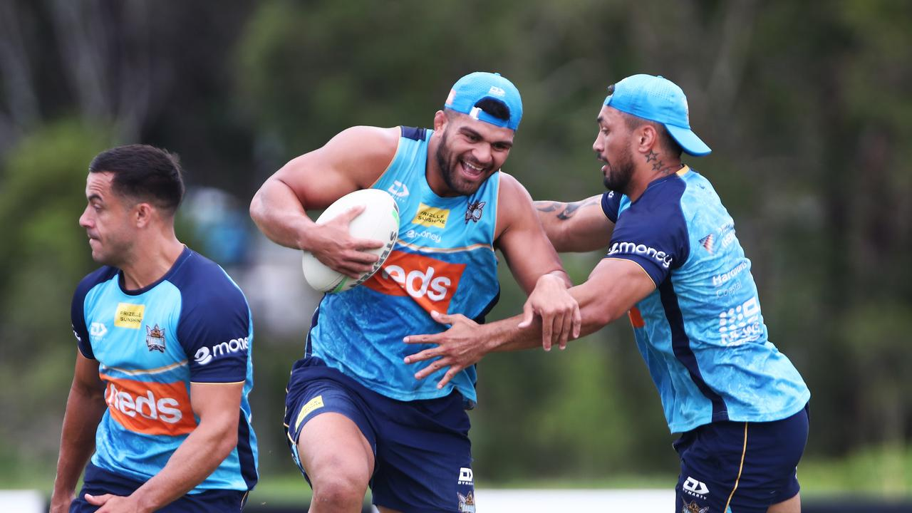 A new favourite has emerged to understudy David Fifita and Kevin Proctor as the Titans' 17th man in 2021.