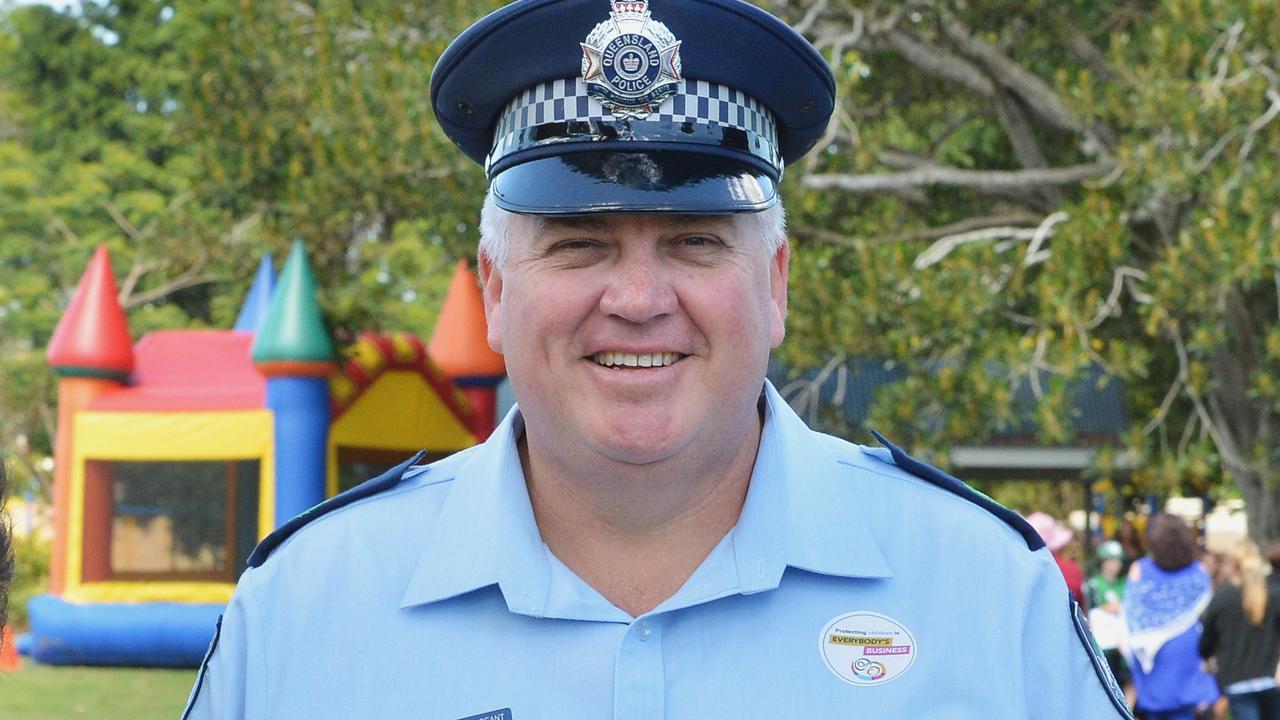 Senior Sergeant Gregg Davey. Photo Greg Miller / Gympie Times