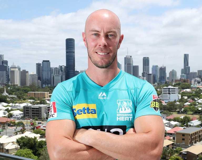 Brisbane Heat captain Chris Lynn. Photographer: Liam Kidston.