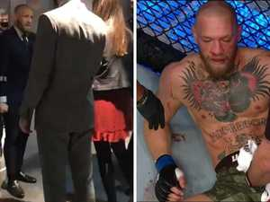 Backstage photo exposes McGregor truth