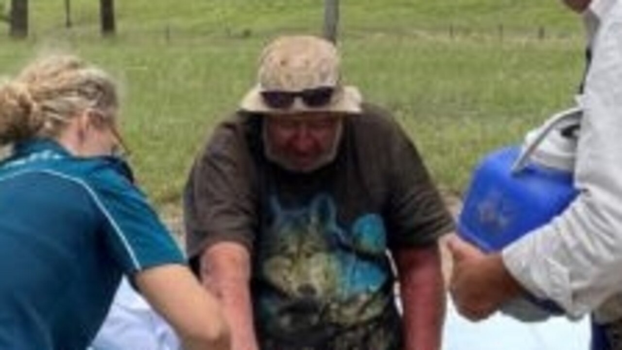 Robert Weber was found on Sunday morning more than two weeks after he was last seen at Kilkivan.