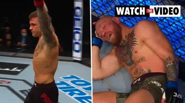 UFC 257- McGregor destroyed by Dustin Poirier