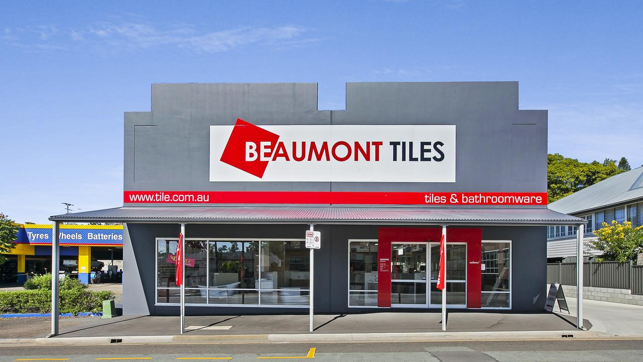 The Beaumont Tiles building at 202 Brisbane St, Ipswich.