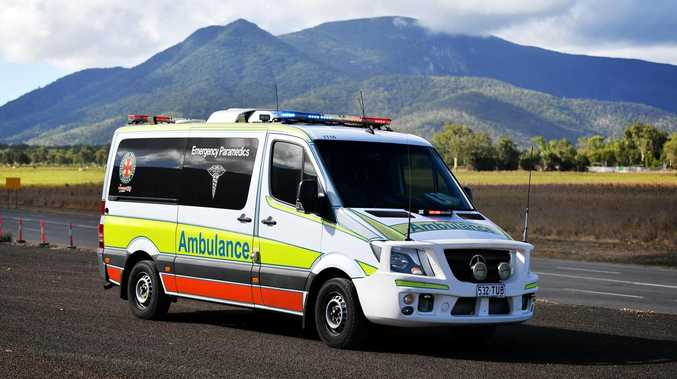 Three-vehicle crash on CQ road hospitalises two