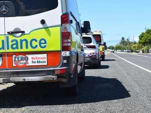Minor crash disrupts traffic on busy road
