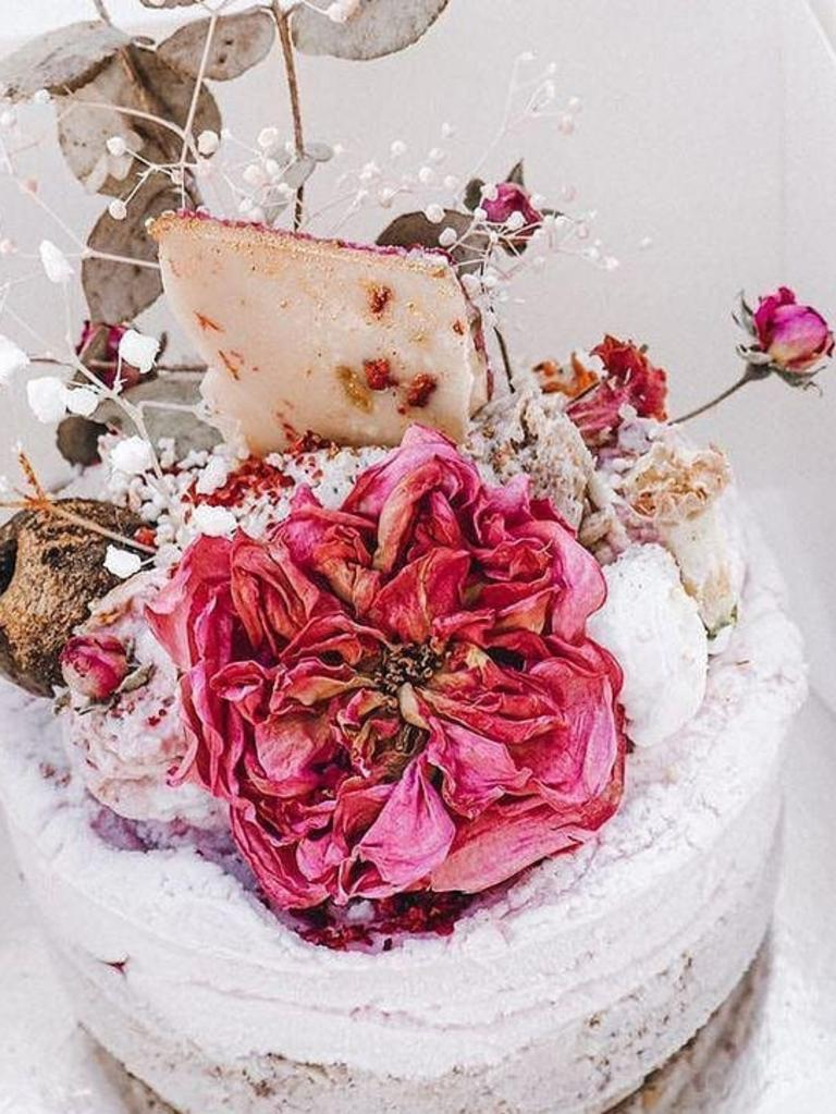 A cake made by Rosebed and Finch owner Cheryse Healy. Picture: Supplied.