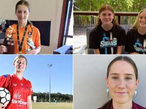 Coast's rising female footballers shoot for glory