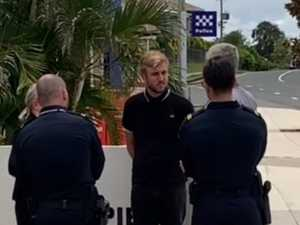 WATCH: Illegal rave DJ detained by border security in Gympie