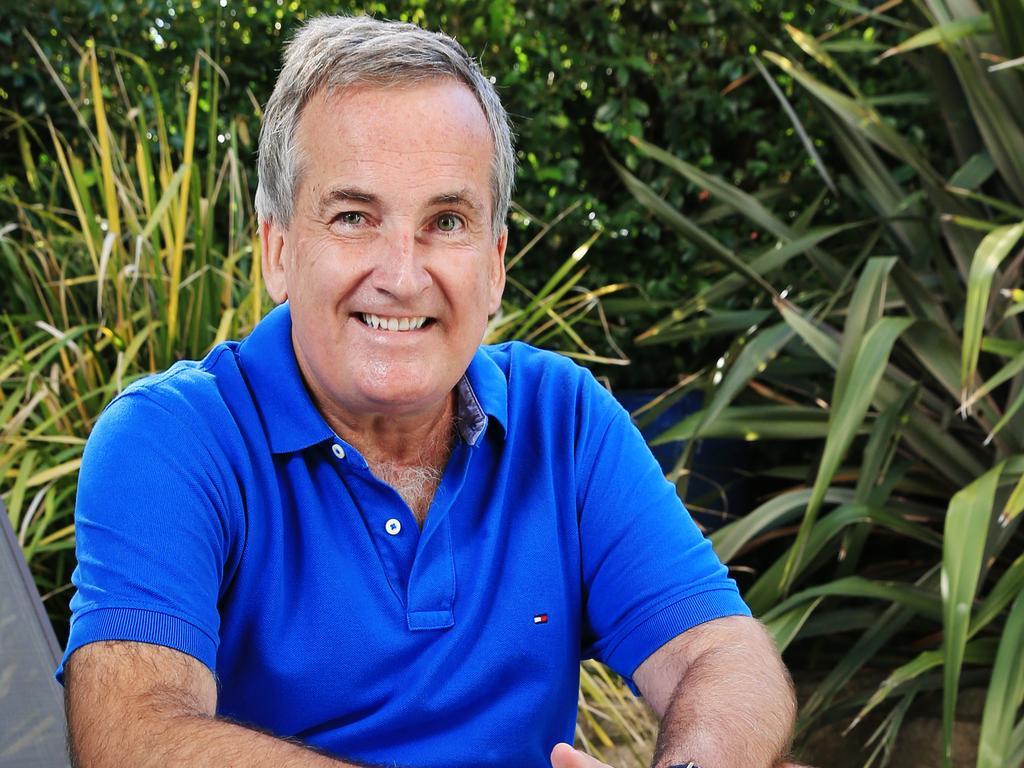 Former Channel 7 personality Glenn Wheeler. Picture: Toby Zerna