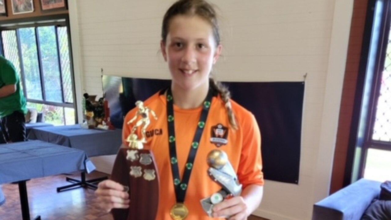 U14 Buderim Wanderers player Darcy Evans scored 52 goals this year.