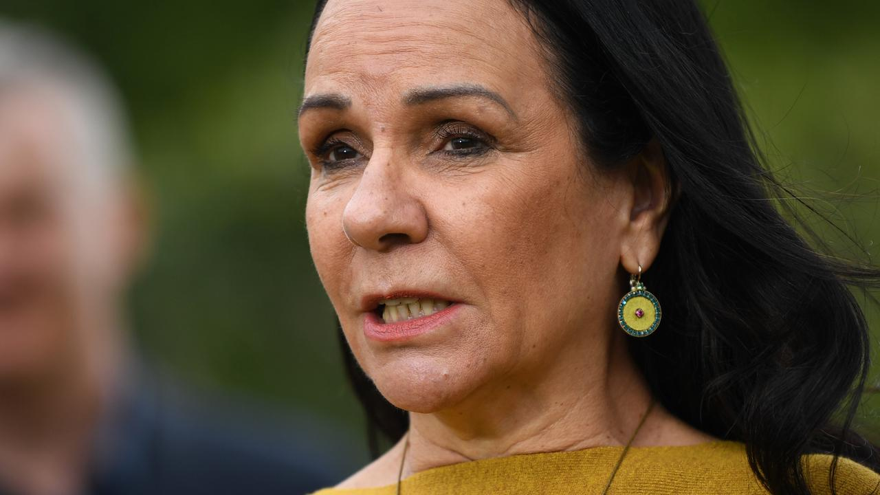 "Shadow Minister for Families and Social Services Linda Burney said there were ""complexities"" over January 26 and the ABC's use of different terminology reflected that. Picture: AAP Image/Joel Carrett."