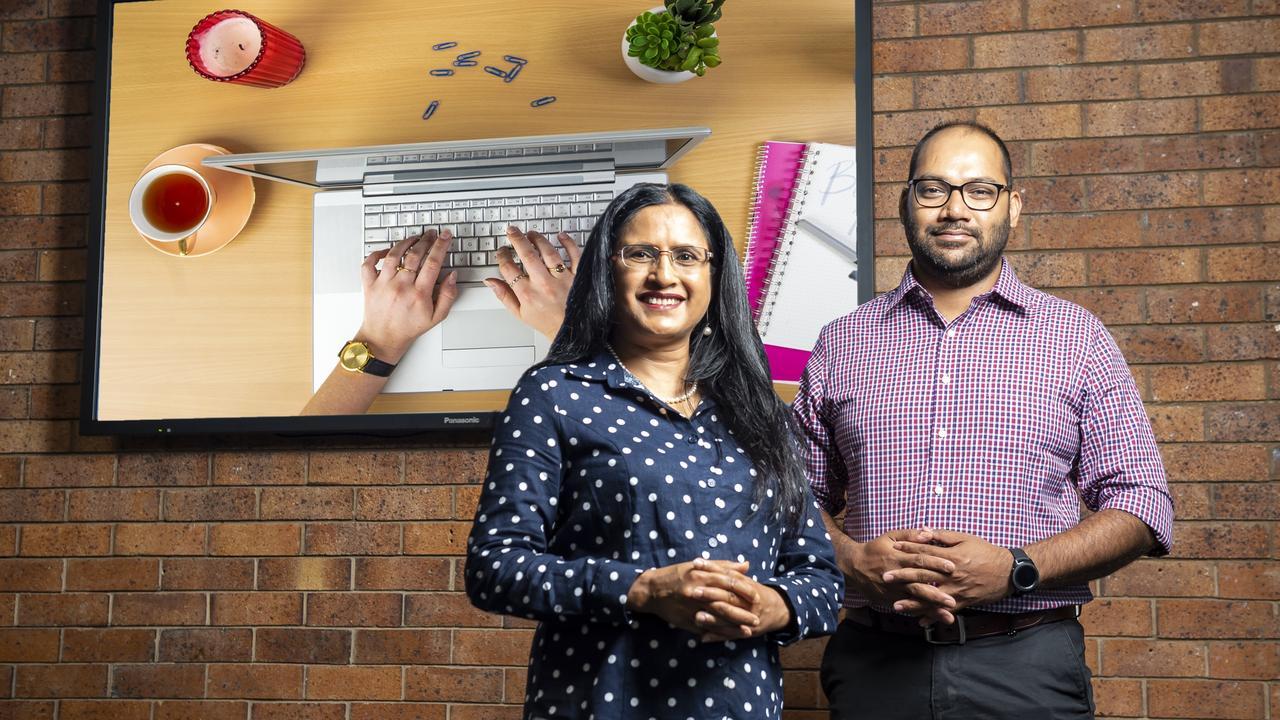 University of Southern Queensland's Associate Professor Rasheda Khanam and Md Irteja Islam.