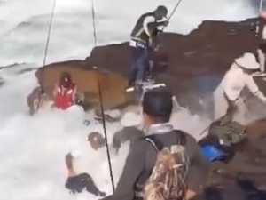 'Idiots' filmed at deadly fishing spot