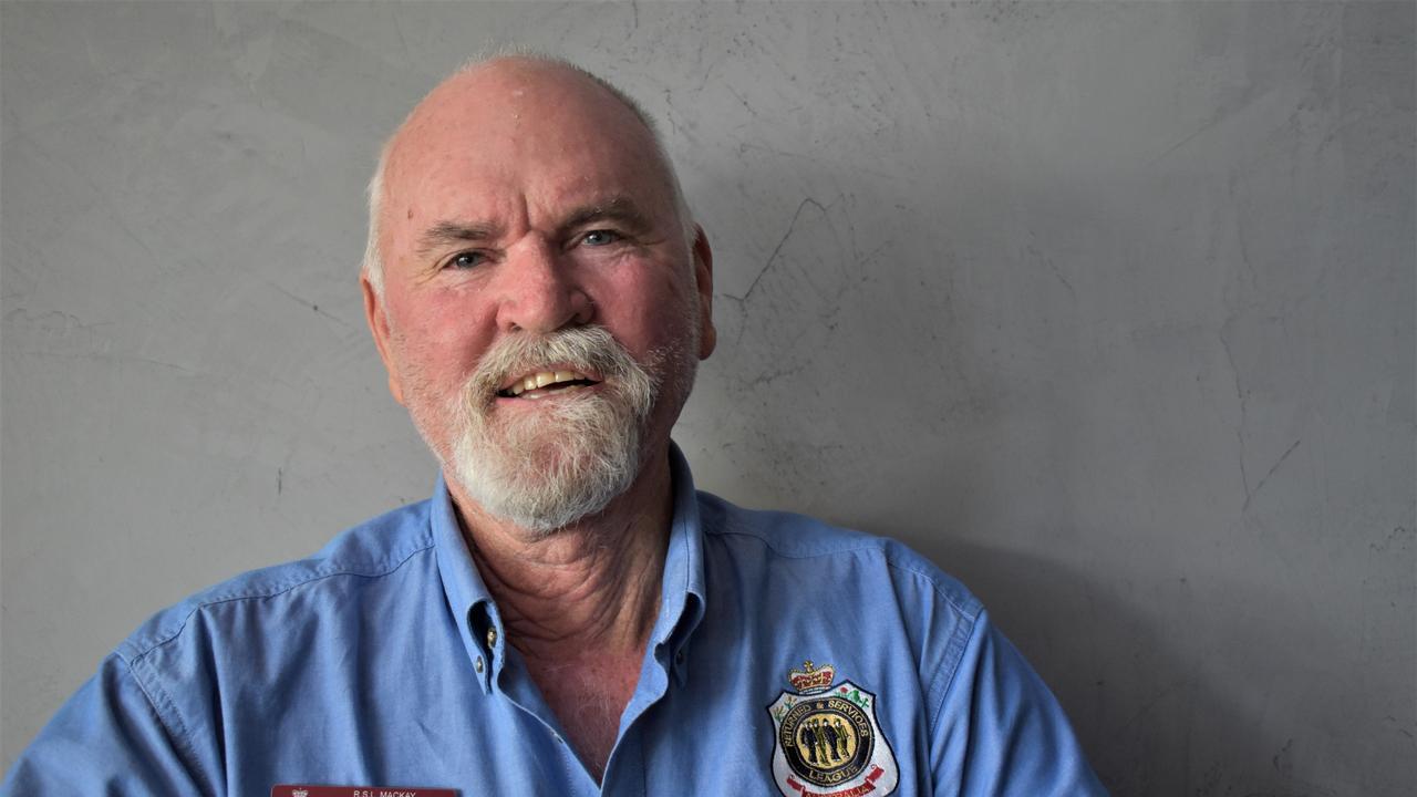 RSL Mackay sub-branch president Ken Higgins. Picture: Heidi Petith