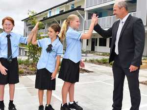 Coast's $127m high school welcomes first students