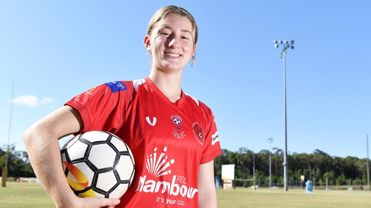 Kiara Rychvalsky was Sunshine Coast Premier Ladies player of the year. Picture: Patrick Woods.