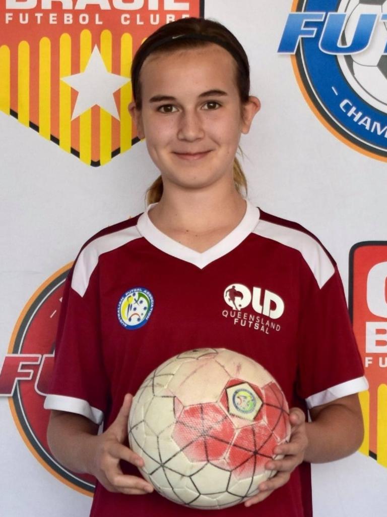 Sunshine Coast Wanderers player Olivia Clarke